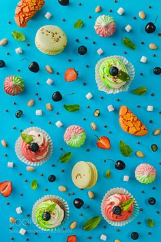 Sweet patterns: cupcake by tastyphotos #food #yummy #foodie #delicious #photooftheday #amazing #picoftheday