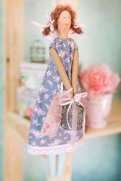 .Tilda with a little basket
