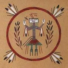 Significato simboli Indiani Pitture di Sabbia