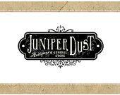 PreDesigned CUSTOM Vector Logo Design JUNIPER DUST Logo - Custom Business Branding