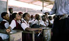 Nigerian children at school
