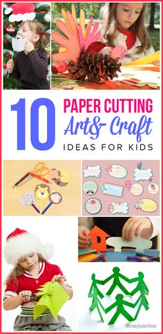 Want your child to come up with innovative paper cut out art crafts skill? Read here easy paper cutting art and craft ideas For kids and preschoolers.