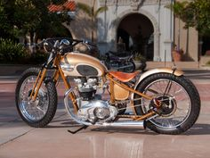 Brown Sugar by Tony and Andy Dunn at Classic Cycles, Inc. in Orange, CA