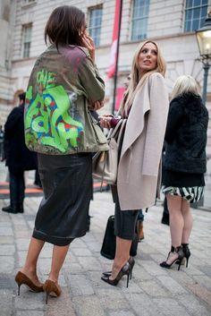 London Fashion Week Fall 2015 #StreetStyle