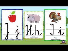 Alfabet- Plansze demonstracyjne