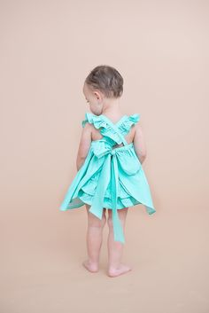 The 'Sabrina' dress and bloomer set- available from Gentille Alouette Spring 2015