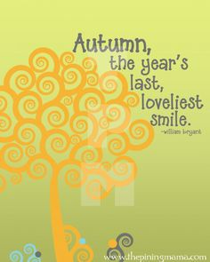 Free Printable Fall Word Art from The Pinning Mama- Click here to download #autumn #printable #wordart