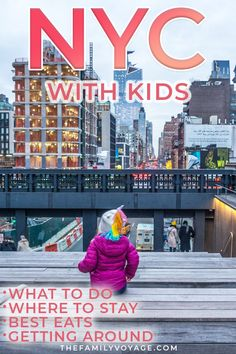 What should you do when you visit NYC with kids? We've got the best kid-friendly attractions for your family trip to New York (plus ways to save big bucks in the Big Apple). CLICK to read and SAVE it for later! #NewYork #NYC #travel #familytravel
