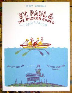 GigPosters.com - John & Jacob - St. Paul & The Broken Bones