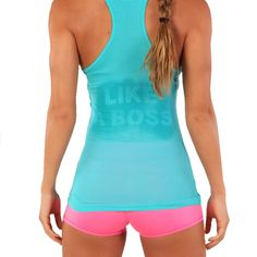 "WOMEN'S VIEWSPORT® ""LOOK LIKE A FOX"" RACERBACK TANK - WORKOUT TANK TOP. $19.95"