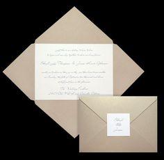 Star-shaped DIY wedding invitation folders