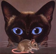Cat and Mouse by Ken Joudrey