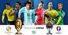 Copa América ou Eurocopa? Qual dos dois torneios você gosta mais? Compare e dê a sua opinião!