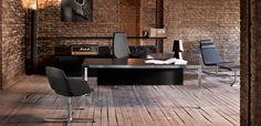 Moderne kontorpulter Frame by Sinetica