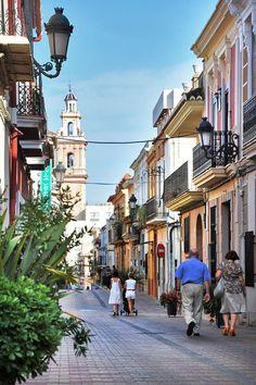 Las calles de Valencia. España.