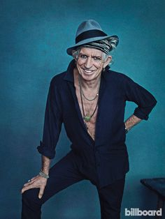 Keith Richards Billboard Cover Shoot