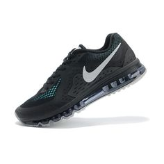 Nike Air Max 2014 Siyah Mavi Beyaz Erkek Ayakkabı
