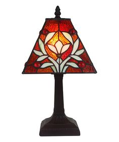 Loving this Tiffany Sophie Table Lamp on #zulily! #zulilyfinds