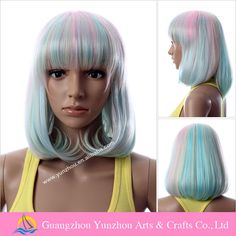 Fashion short colors yiwu low density wig, View low density wig, hairmay Product Details from Guangzhou Yunzhou Arts & Crafts Co., Ltd. on Alibaba.com