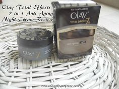 Olay Total Effects 7 in 1 Anti Aging Night Cream Review