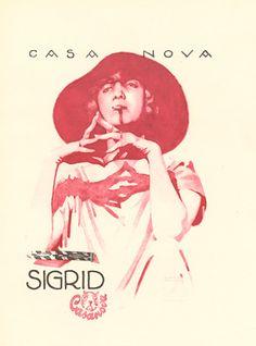 Hohlwein, Ludwig - H. 38 - Casa Nova Sigrid