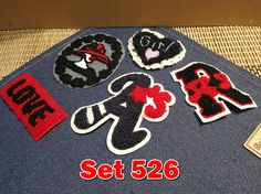 Wholesale Clearance Vintage Embroidery Patches Towel Patches