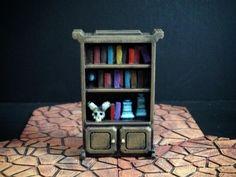 Delving Decor: Wizard's Shelf by dutchmogul - Thingiverse