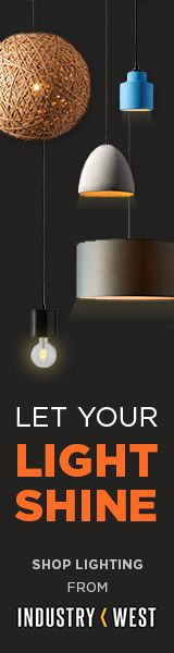 Shop new lighting from Industry West!