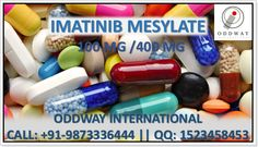 Buy Imatinib Tablets or capsule available in the strengths of 400 mg and 100 mg respectively, that is indicated for the treatment of Chronic myeloid leukaemia, Gastro Intestinal Stromal Tumour (GIST) – a rare type of stomach cancer, Acute lymphoblastic leukaemia that is Philadelphia chromosome positive and many other listed on our website.