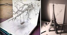 33 Of The Best 3D Pencil Drawings | Bored Panda
