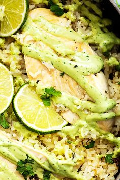 Cilantro lime chicken and rice cooked in one pot just 30 minutes, topped with creamy avocado sauce. It's been too long. Way too long since a one pot meal has appeared on this here blog. So here it is. One pot cilantro lime chicken and rice. In 30 minutes. You're welcome. So the sauce is... Read More »