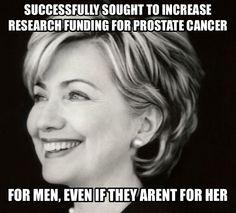 Cares about men
