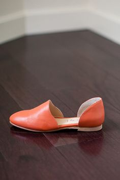 Emerson Fry, New York, Smoking Loafer - Orange Leather
