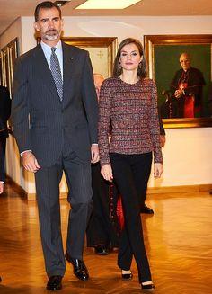 King Felipe and Queen Letizia.   22-11-2016