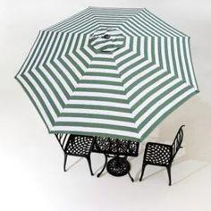 Replacement Umbrella Canopy: How To Guide | OutsideModern Pagoda Umbrella, Offset Umbrella, Umbrella Cover, Outdoor Umbrella, Canopy Outdoor, Outdoor Shade, Wind Resistant Umbrella, Umbrellas For Sale, Teak Outdoor Furniture