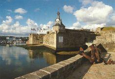 Concarneau. La Ville Close. La grande histoire médiévale de Concarneau (Finistère). Histoire de France. Patrimoine. Magazine