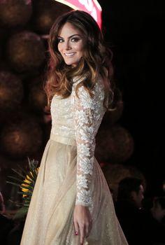 Ximena Navarrete Ilumina Navidad Con Arbol Interactivo en el Auditorio #Lifestyle #Purpura