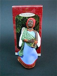Hallmark Keepsake Collectors Ornament Celebration of Angels Kwanzaa Kikombe 1997 | eBay