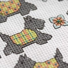 Scottie dog bag | TheMakingSpot <__ cute!!