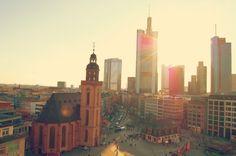 . Frankfurt, Empire State Building, San Francisco Ferry, Great Places, Photo Art, New York Skyline, Travel, World, Cities