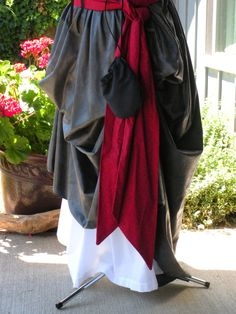 Pirate Sash  Red Cotton Custom Orders by Piecesof8costumes on Etsy, $12.00