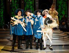 Oregon Shakespeare Festival. ANIMAL CRACKERS (2012): John Tufts, Brent Hinkley, Eddie Lopez, Mark Bedard, K. T. Vogt.  Photo: Jenny Graham.