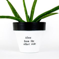 Aloe vera plant pot long distance gift miss you gift clay | Etsy Succulent Planter Diy, Succulents Diy, Planter Pots, Clay Planter, Aloe Vera, Diy Edible School Supplies, Distance Friendship, Miss You Gifts, Long Distance Gifts