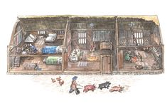 Peasant houses in Midland England: How the Black Death prompted a building boom