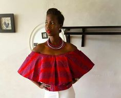 African Tops, African Shirts, African Dresses For Women, African Print Dresses, African Attire, African Fashion Dresses, African Wear, African Women, Ankara Fashion