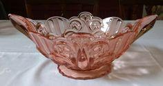 Brockwitz bowl Pressed Glass, Dresden, Punch Bowls, Decorative Bowls, German, Sculpture, Beautiful, Home Decor, Deutsch