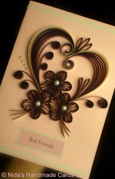 from Nida's handmade cards