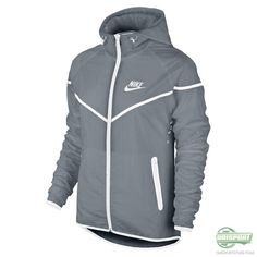 545575efdb Nike Womens Tech Aeroshield Windrunner Jacket Gray Size Medium NWT  180