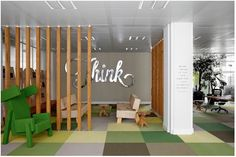 Whimsical Pop Art Style Ad Agency Office