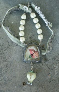 Rain Carrier Necklace by dabbler on Etsy